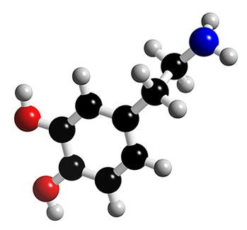 dopamine-molecule