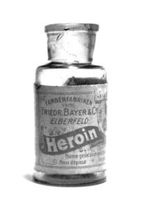 Bayer heroin bottle (image courtesy of