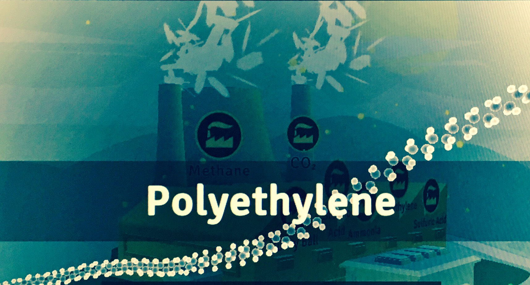 Molecule Advent Day 7: Polyethylene